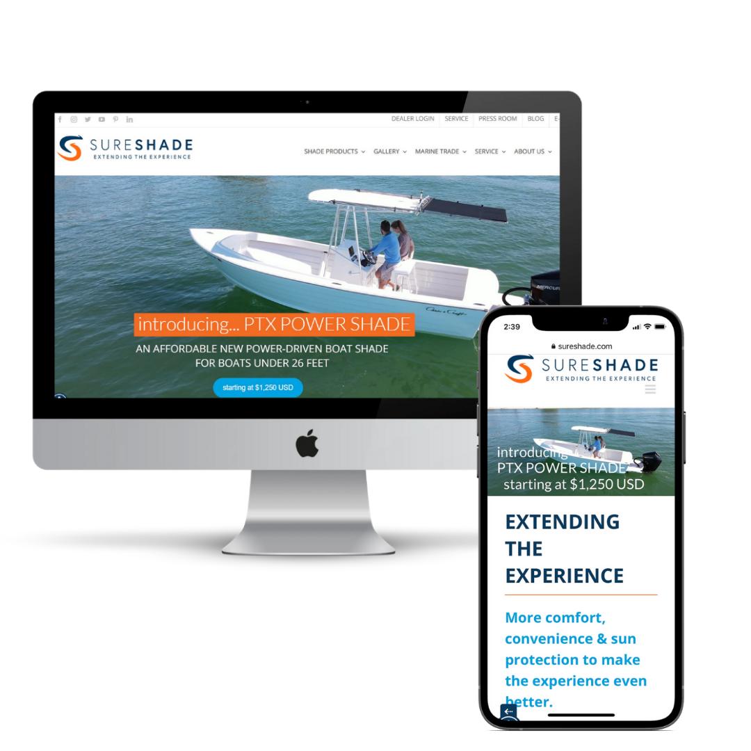 sureshade website