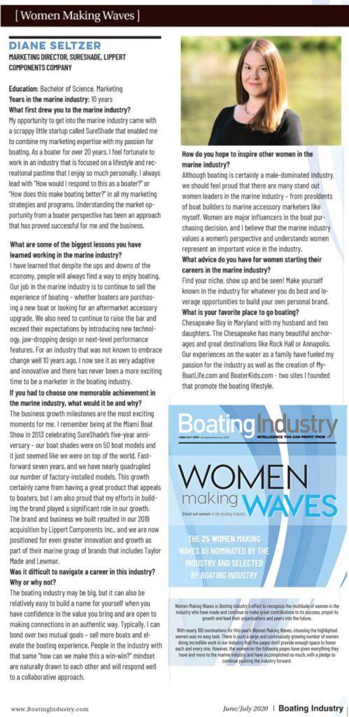 women waves 2020